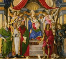 Сандро Боттичелли. Алтарь святого Варнавы