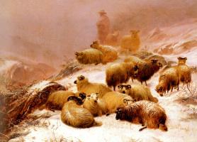 Томас Сидней Купер. Холодная зима
