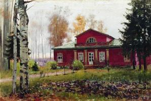 Илья Саввич Галкин. После дождя (В старинном парке)
