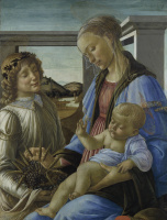 Sandro Botticelli. Madonna Of The Eucharist