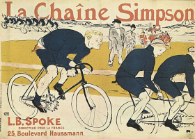 "Анри де Тулуз-Лотрек. Плакат ""Цепь Симпсона"""