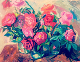 Мария Пусякова. Цветы. Розы