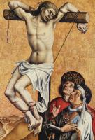 Раскаявшийся разбойник на кресте. Фрагмент