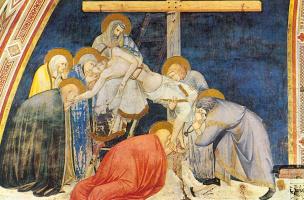 Pietro Lorenzetti. The descent from the cross