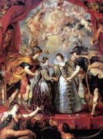 Peter Paul Rubens. The exchange of princesses
