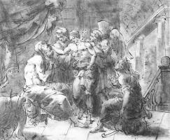 Орест Адамович Кипренский. Товий и его слепой отец