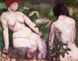 Марсель Дюшан. Две обнаженные женщины