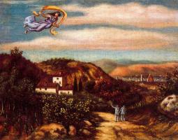 Джорджо де Кирико. Полет над землей