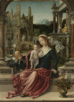 Бернард ван Орлей. Святое семейство