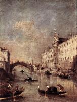 Франческо Гварди. Венецианский канал