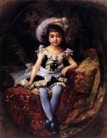 Константин Егорович Маковский. Детский портрет