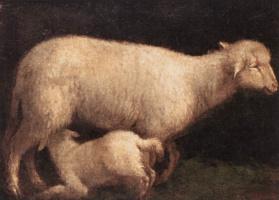 Якопо да Понте Бассано. Овца и ягненок