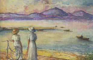 Henri Lebasque. Near Saint-Tropez