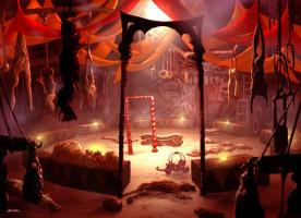 Джон Эйвон. Необычный цирк