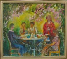 Vladimir Sergeevich Schnarevich. A visit to friends
