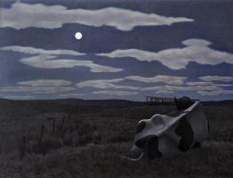 Алекс Колвилл. Корова и луна