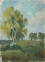 Anatoly Vasilievich Smagin. Birch