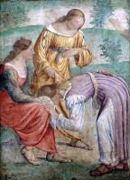 Бернардино Луини. The Gathering of the Manna