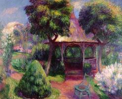 Уильям Джеймс Глакенс. Беседка в саду