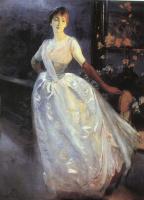 Paul Albert Benar. Lady in white