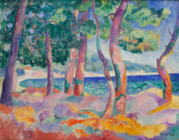 Henri Manguin. The Bay at Cavaliere