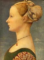 Доменико Венециано. Портрет девушки