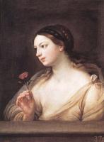 Гвидо Рени. Девушка с розой