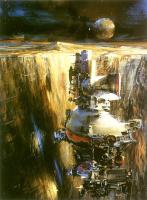 Джон Берки. Космический корабль