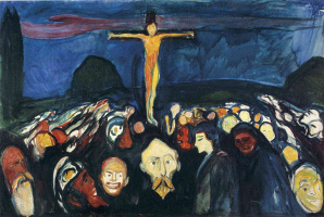 Edward Munch. Calvary