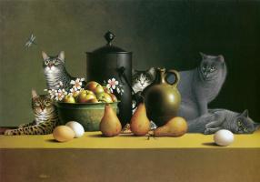 Натюрморт с яйцами
