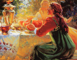 Лидия и Евгений Барановы. Лидия и Евгений, летний тет-а-тет