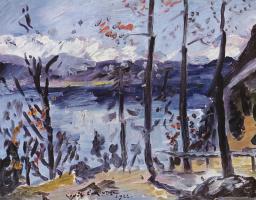Ловис Коринт. Пасха на озере Вальхен