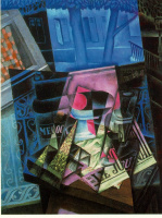 Хуан Грис. Натюрморт перед открытым окном