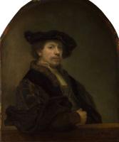Рембрандт Харменс ван Рейн. Автопортрет в возрасте 34 лет