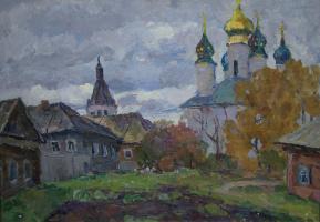 Борис Петрович Захаров. Осень в провинции.