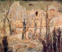 Элберт Блох. Вороны на деревьях