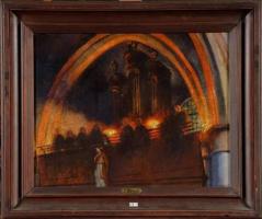 Жан Дельвиль. В церкви (Хорал)