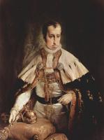 Франческо Айец. Портрет австрийского императора Фердинанда II