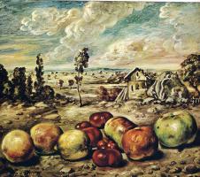 Giorgio de Chirico. Apples