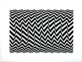 Bridget Riley. Untitled (fragment 3)
