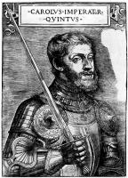 Тициан Вечеллио. Портрет императора Карла V