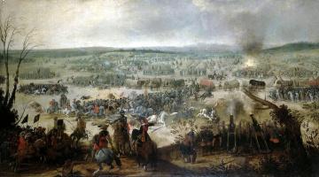 Симон де Вос. Сражение при Вимпфене 6 мая 1622 года