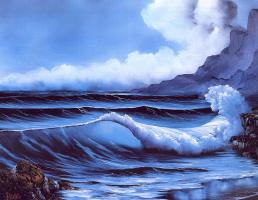 Боб Росс. Уединенный пляж