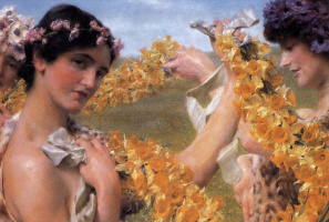 Лоуренс Альма-Тадема. Когда цветы вернутся