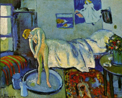 Пабло Пикассо. Голубая комната