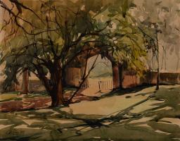 Лим Чэн Хое. Ворота в Форт Каннинг