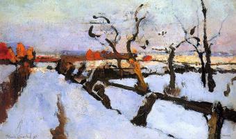 Флорис Верстер. Снег