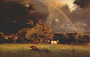 George Innes. Rainbow