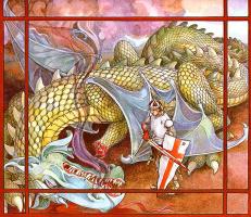 Трина Шарт Хайман. Святой Георгий и дракон 09