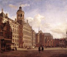 Ян ван дер Хейден. Площадь